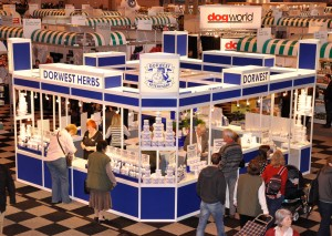 The busy Dorwest Trade Stand in its usual position in Hall 4