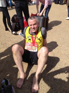 DONAL RUNS THE MARATHON – WHAT A RESULT TOO !